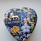 Чай в подарок | Чай Ричард Королевское сердце 30 г в жестяной банке, фото 3