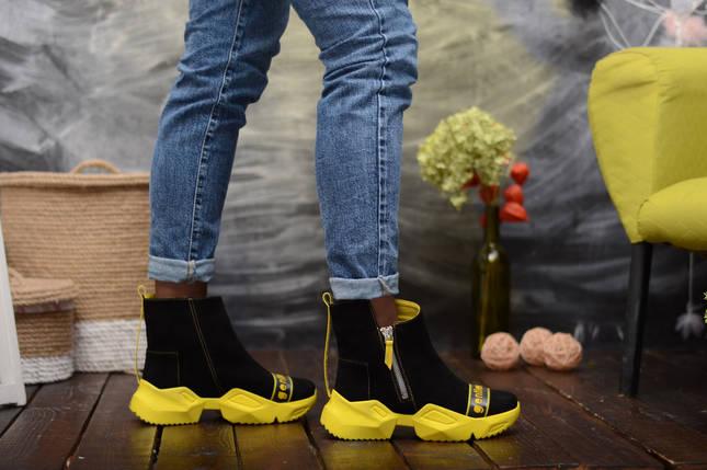 Ультрамодні демісезонні черевики в спортивному стилі 36-40 р, фото 2