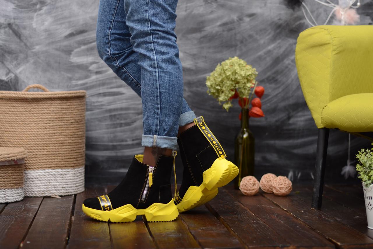 Ультрамодні демісезонні черевики в спортивному стилі 36-40 р