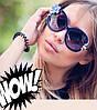 Солнцезащитные очки Louis Vuiiton с цветком.