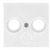 Лицевая панель ТВ Lumina-2 белая