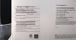 Apple MacBook Air 13` Retina 128Gb Gold (MVFM2) 2019, фото 3
