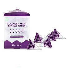 Содовый скраб в пирамидках Mizon Collagen Milky Peeling Scrub, 1 шт.