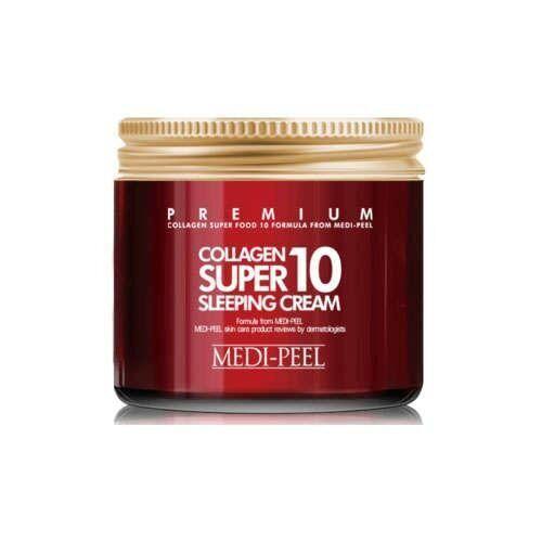 Відновлюючий нічний крем для обличчя з колагеном MEDI-PEEL Collagen Super10 Sleeping Cream, 70 мл