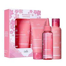 Лимитированный набор по уходу за волосами LADOR Blossom Edition Lador (Treatment+Shampoo+Hair Ampoule)