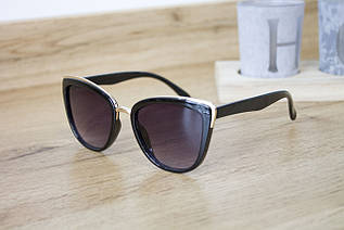 Детские очки черные  0431-1