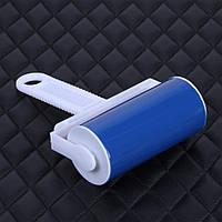 Щетка-роллер (валик) для чистки одежды, многоразовая