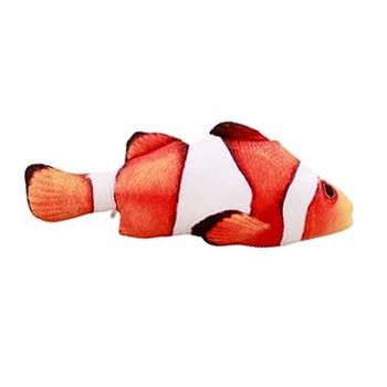 Игрушка для собак рыба клоун мягкая, 40 см