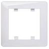 Рамка 1-кратная Lumina-2 белая