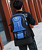 Большой вместительный туристический унисекс рюкзак, фото 5