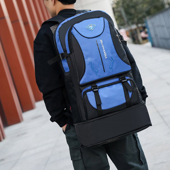 Большой вместительный туристический унисекс рюкзак