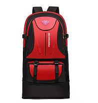 Большой вместительный туристический унисекс рюкзак, фото 3