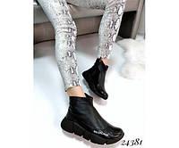 Ботинки Balenciaga из натуральной кожи, фото 1