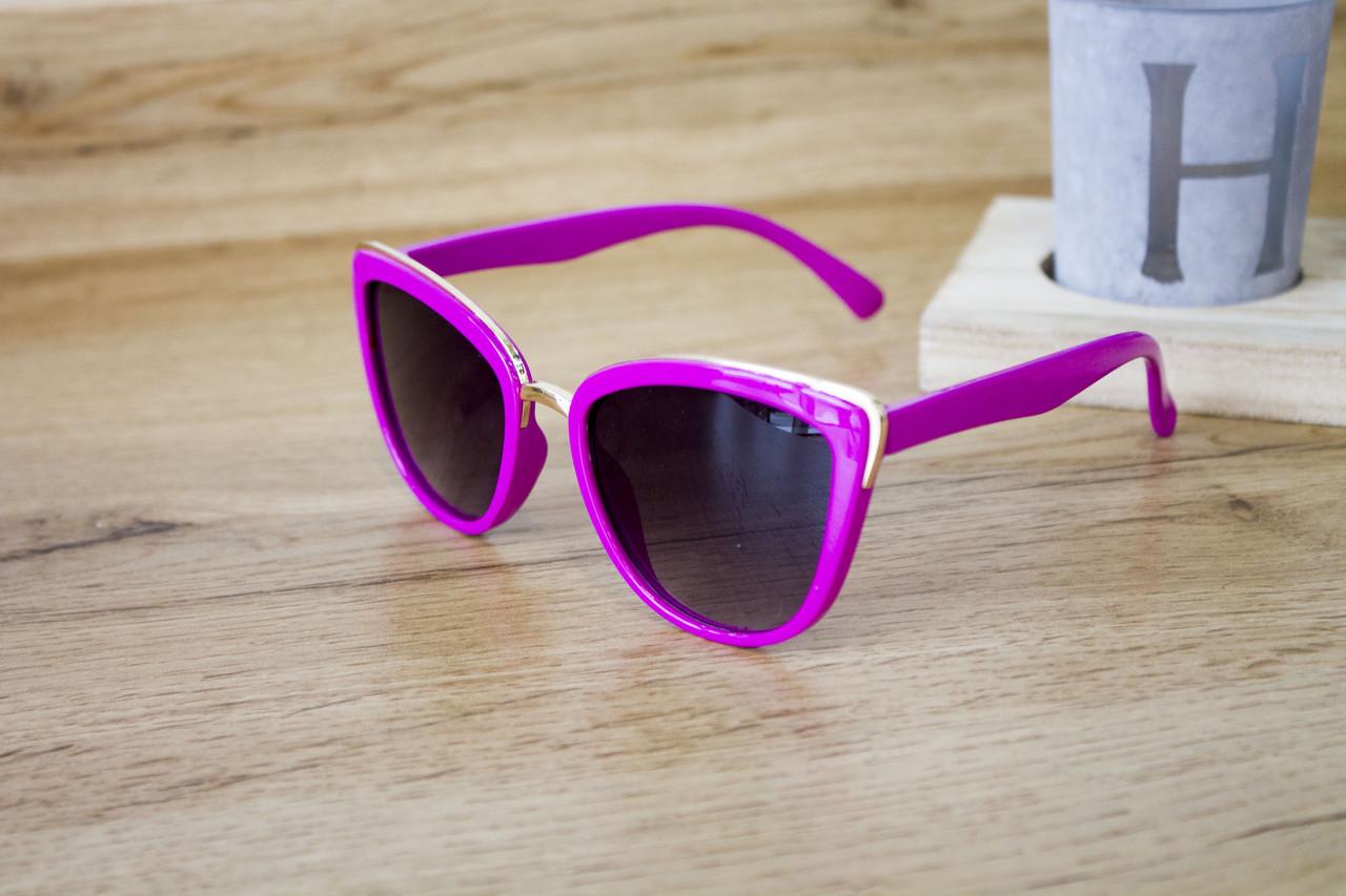 Детские очки малиновые 0431-2