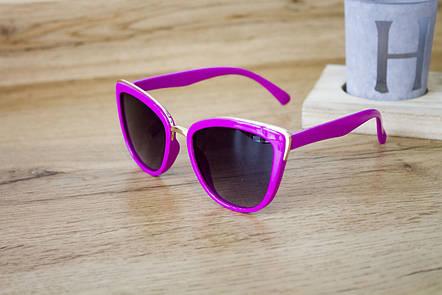 Детские очки малиновые 0431-2, фото 2
