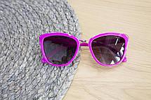 Детские очки малиновые 0431-2, фото 3