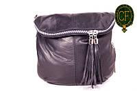 (Sissone) Итальянская кожаная сумочка MIK0-L01 черный