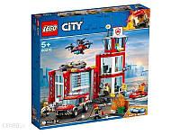 Блоковий конструктор LEGO City Пожарное депо (60215), фото 1