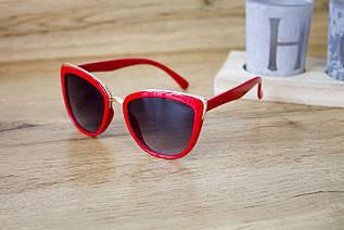 Детские очки красные 0431-4