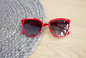Детские очки красные 0431-4, фото 3