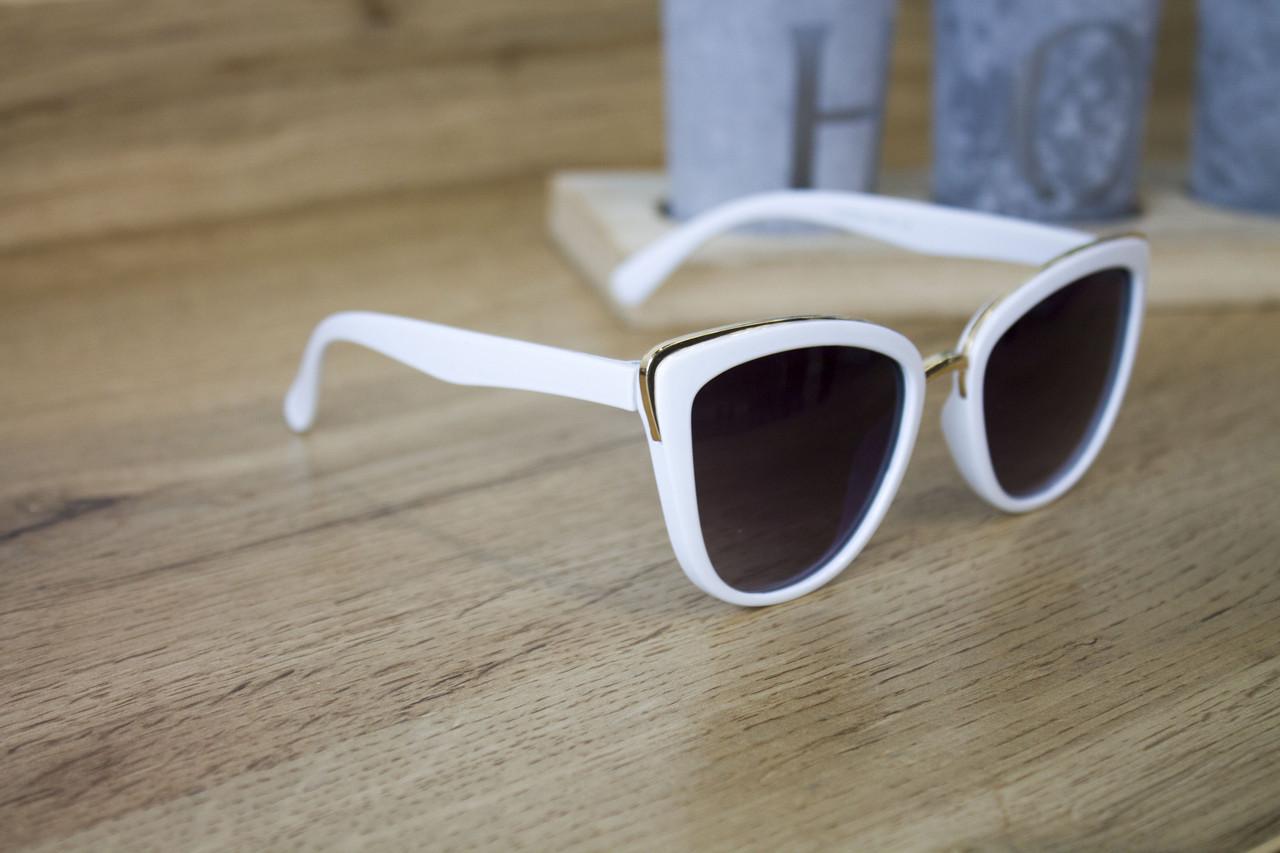 Детские очки белые 0431-5