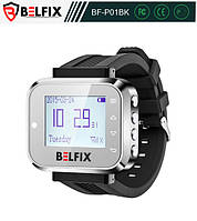 Пейджер-часы для официантов и персонала BELFIX-P01BK, фото 1