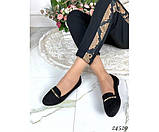 Замшевые мокасины с украшением, фото 6