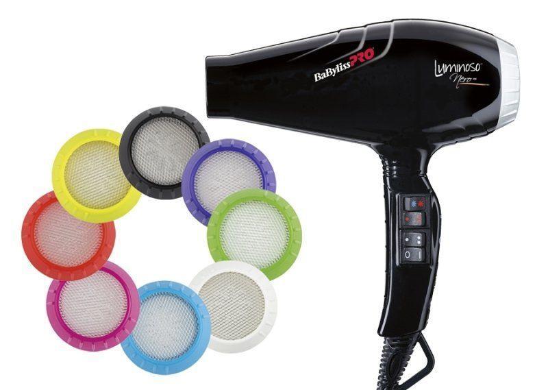 Профессиональный фен для волос Babyliss Pro Luminoso Nero BAB6350IBE 2100W