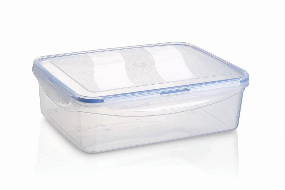 Контейнер для продуктов с защелками и силиконовым уплотнителем 4400мл Ucsan