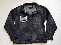 Чёрные,Джинсовые пиджаки для мальчиков. Размеры 6-16.Фирма S&D,Венгрия