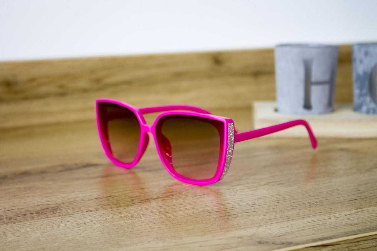 Детские очки малиновые 0466-2