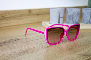 Детские очки малиновые 0466-2, фото 2