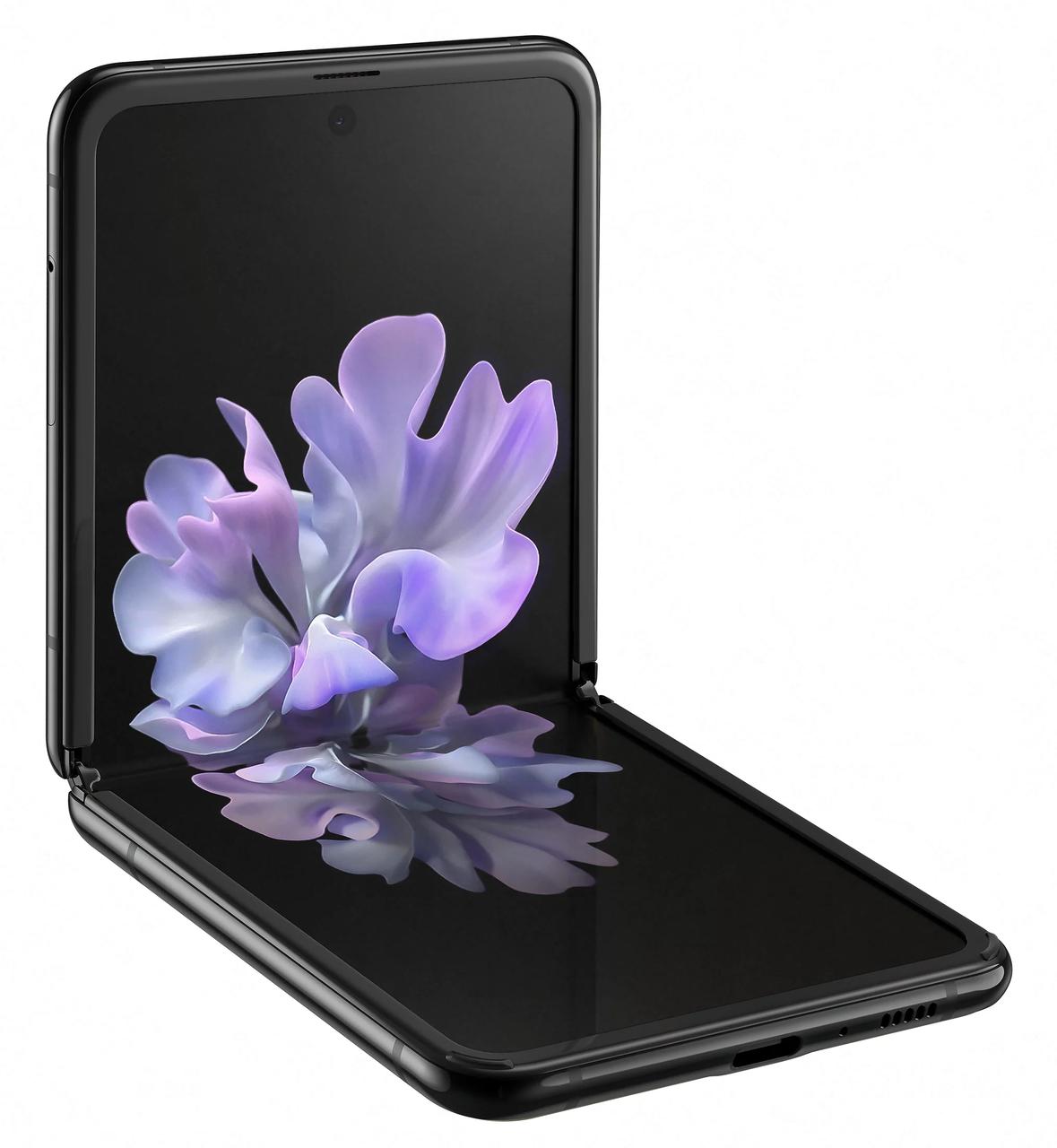 Смартфон Samsung Galaxy Z Flip 2020 8/256Gb Black (SM-F700) EU