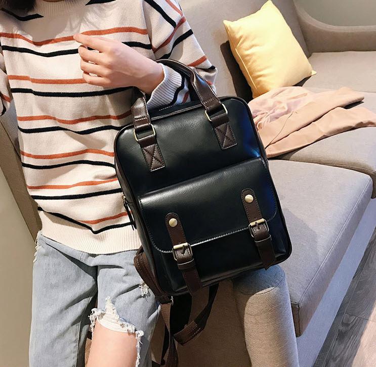 Стильная сумка-рюкзак ранец трансформер