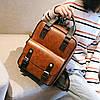 Стильная сумка-рюкзак ранец трансформер, фото 6