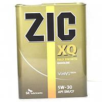 Синтетическое моторное масло ZIC(Зик) XQ 5W-30 4л.