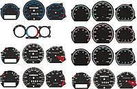 Шкалы приборов VW Passat B3