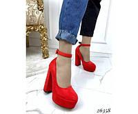 Туфли на платформе с ремешком, фото 1