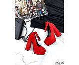 Туфли на платформе с ремешком, фото 3
