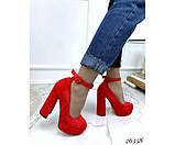 Туфли на платформе с ремешком, фото 6