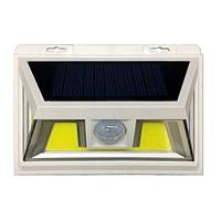 Светодиодный прожектор 10w 6000K на солнечной батарее с датчиком движения