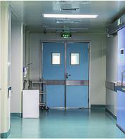 Маятникові двостулкові двері HPL з фенольної кромкою art. 2GPHDA Soleco (1600/1800х2140)