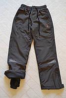 Плащёвочные,утеплённые термо-штаны на флисе для мальчиков,размеры 134-164 см.Фирма Grace.Венгрия, фото 1