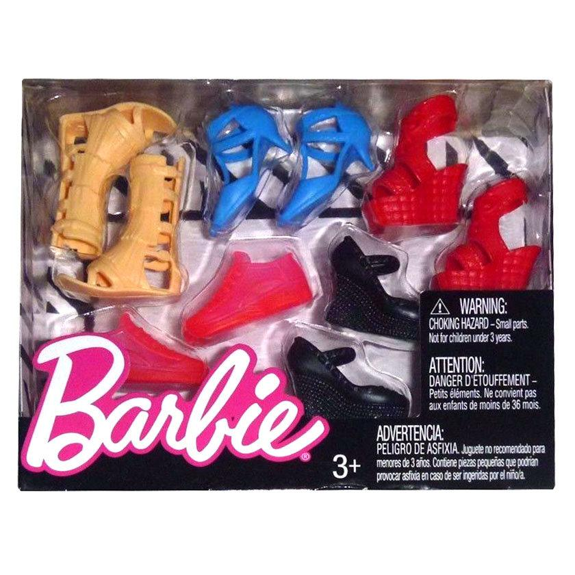 Обувь для куклы Барби - 5 пар FCR93