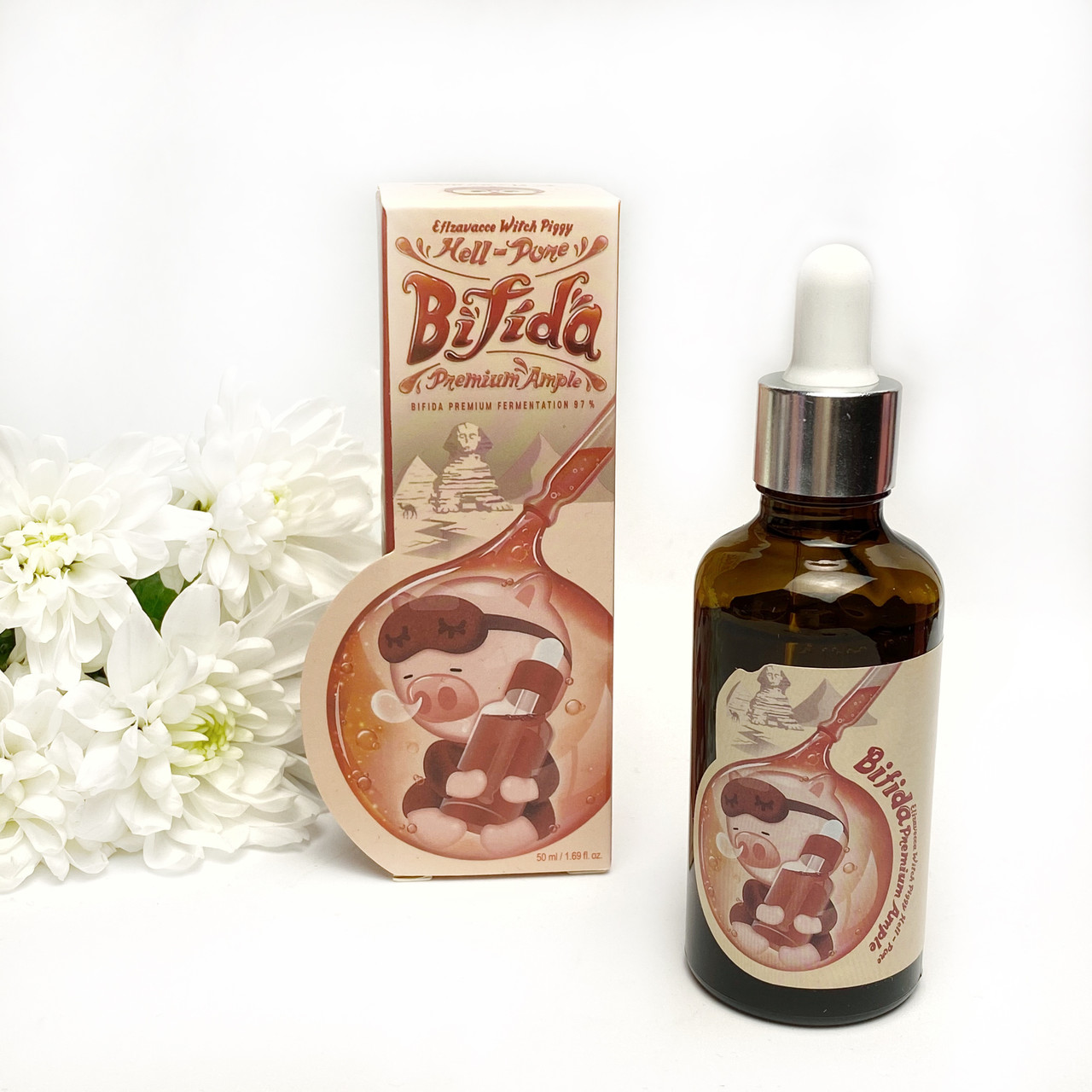 Сыворотка для лица с бифидобактериями Elizavecca Witch Piggy Hell-Pore