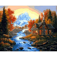 Картина по номерам Река VP1066 40x50 см., Babylon