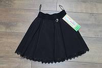 Школьная юбка для девочек.( Ткань- мадонна). 128- рост