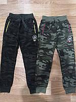 Cпортивные камуфляжные брюки для мальчиков с начесом Sincere 140 p.p., фото 1
