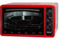 Электрическая духовка Асель FCATT-23 AF-0023 33л. с таймером красный