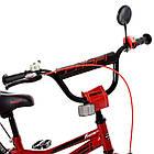 Велосипед детский двухколесный PROFI Y18221 Prime 18 дюймов красный **, фото 2
